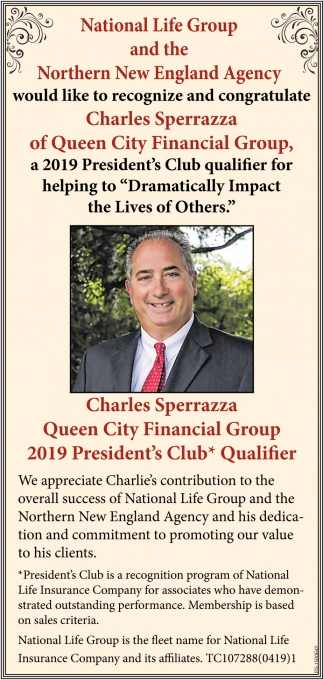 Charles Sperrazza Of Queen City Financial Group