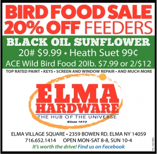 Bird Food Sale 20% Off Feeders