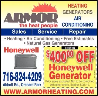 Heating Generators - Air Conditioning