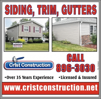 Siding, Trim, Gutters