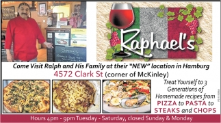 Come Visit Ralph And His Family At Their New Location In Hamburg