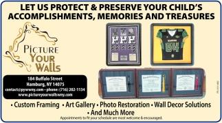 Custom Framing - Art Gallery - Photo Restoration