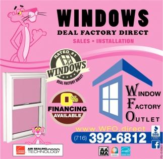 Windows Deal Factory Direct