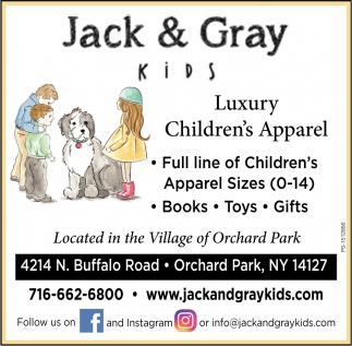 Luxury Children's Apparel