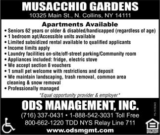 Musacchio Gardens