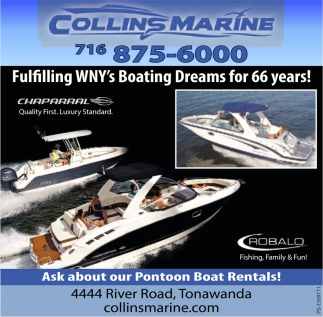 Fulfilling WNY's Boating Dreams For 66 Years!