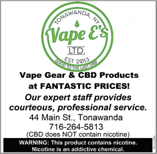 Vape Gear & CBD Products At Fantastic Prices!