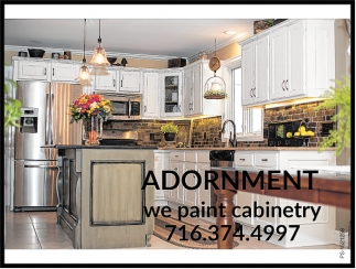 Adornment, We Paint Cabinetry
