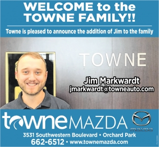 Welcome To The Towne Family!!