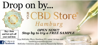 Drop On By... Your CBD Store