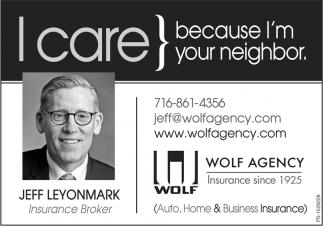 I Care, Because I'm Your Neighbor.