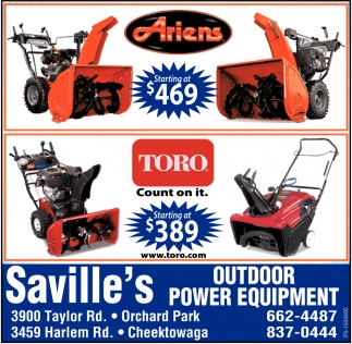 Ariens Starting At $469