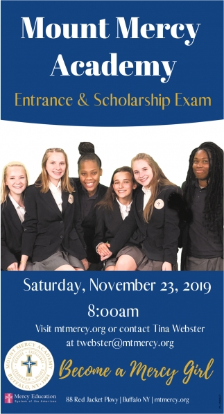 Entrance & Scholarship Exam