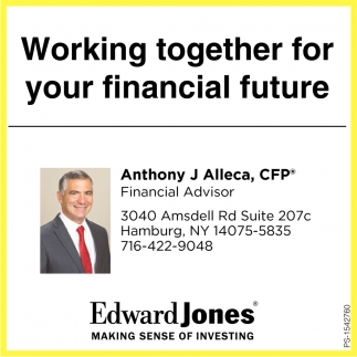 Working Together For Your Financial Future.