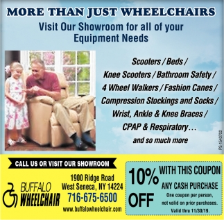 More Than Just Wheelchairs