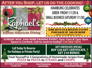 After You Shop, Let Us Do The Cooking!