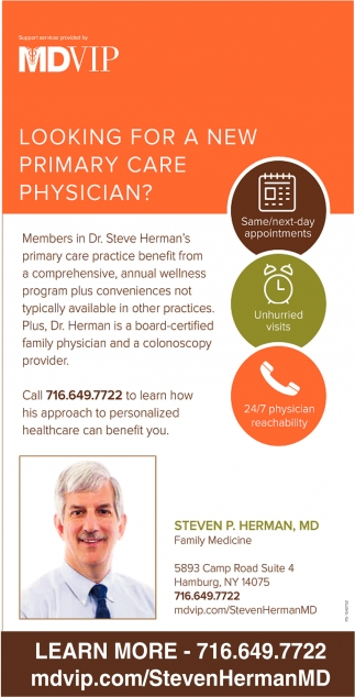 Looking For A New Primary Care Physician?