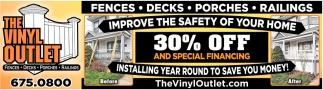 Fences - Decks - Porches - Railings