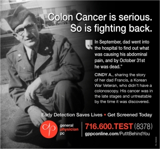 Colon Cancer Is Serious. So Is Fighting Back.