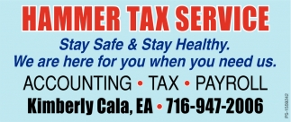 Accounting - Tax - Payroll