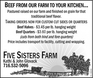 Beef From Our Farm To Your Kitchen...
