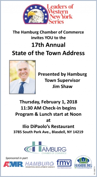 17th Annual State Of The Town Address