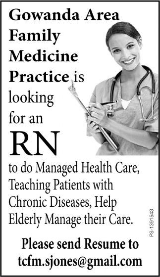 Looking For An RN