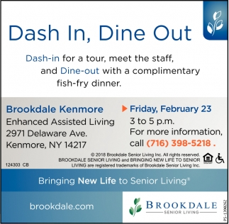 Dash In, Dine Out