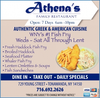 Authentic Greek & American Cuisine