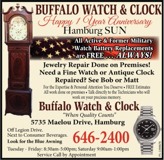 All Active & Former Military Watch Battery Replacements are Free... ALWAYS