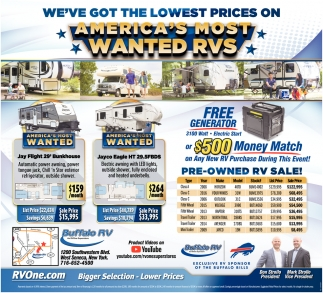 America's Most Wanted RVs