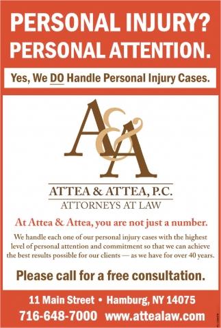 Personal Injury?
