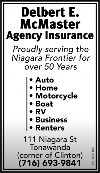 Proudly Serving The Niagara Frontier For Over 50 years