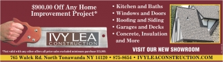 $900 OFF Any Home Improvement Project