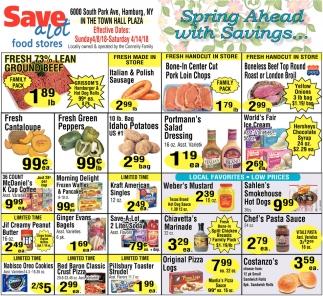 Spring Ahead with Savings