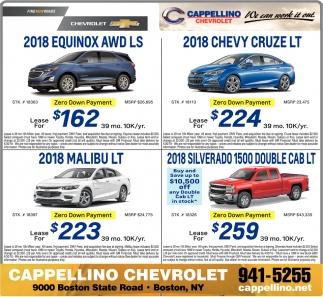 Cappellino Chevrolet