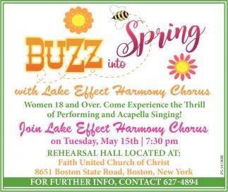 Buzz Into Spring