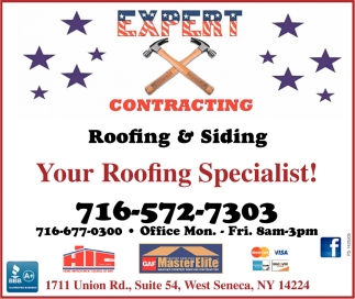 Your Roofing Specialist