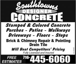 Southtowns Designer Concrete