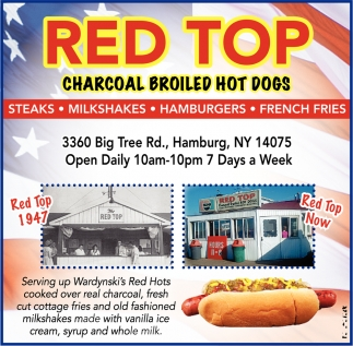 Charcoal Broiled Hot Dogs