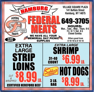We Have All Your Memorial Day Picnic Supplies