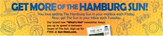 Get More Of The Hamburg Sun!