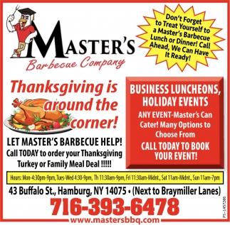 Thanksgiving Is Around The Corner!