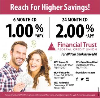 Reach For Higher Savings!