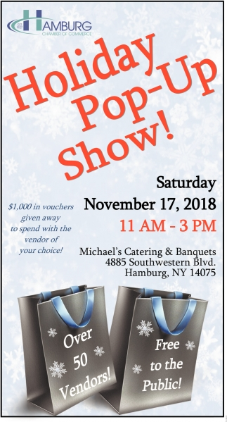 Holiday Pop-Up Show!