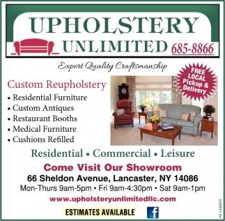 Custom Reupholstery