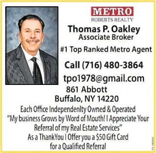 1 Top Ranked Metro Agent