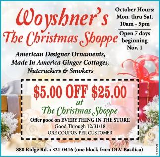 American Designer Ornaments