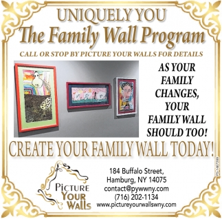 Create Your Family Wall Today!