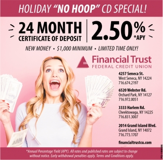 24 Month Certificate Of Deposit